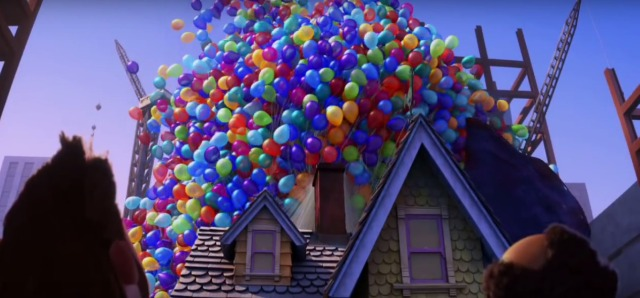 up pixar balloon house