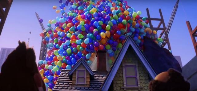 up pixar balloon house
