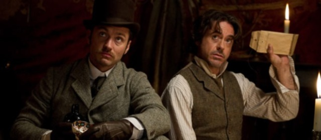sherlick holmes guy ritchie robert downey jr jude law