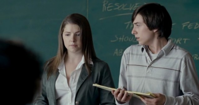 rocket science kid i can't remember name of and anna kendrick