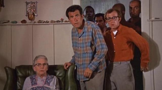 1969 take the money and run woody allen crime gun