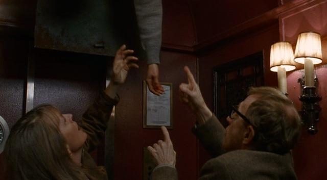 1993 manahattan murder mystery woody allen diane keaton dead body elevator