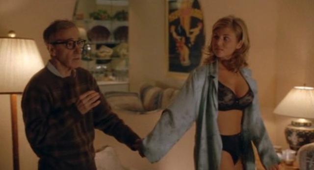 2002 hollywood ending woody allen tiffani thissen kelly kapowski saved by the bell blind underwear