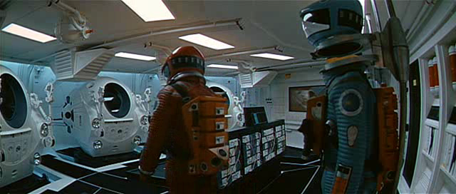 Stanley Kubrick 2001: A Space Odyssey space spaceship