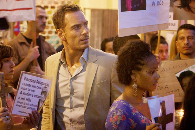 the counsellor michael fassbender protest