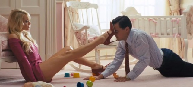 the wolf of wall street leo di caprio margot robbie