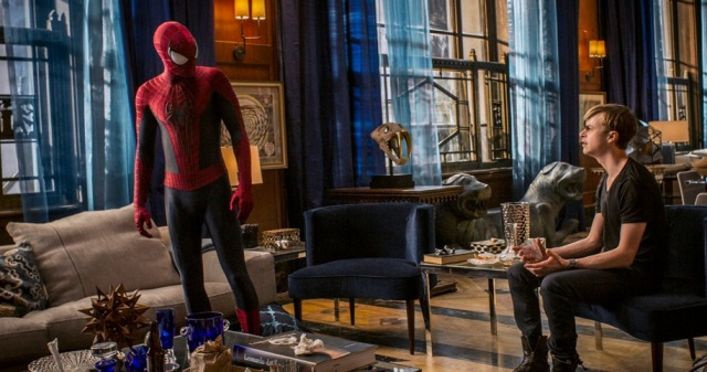 the amazing spider-man 2 andrew garfield dane dehaan