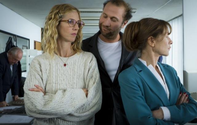 tip top bozon Isabelle Huppert, Sandrine Kiberlain