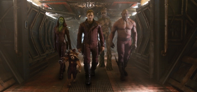 guardians of the galaxy chris pratt zoe saldana raccoon