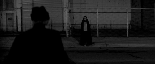 a girl walks home alone at night Sheila Vand ana lily amirpour vampire 2