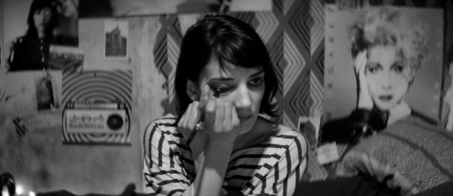 a girl walks home alone at night Sheila Vand ana lily amirpour vampire