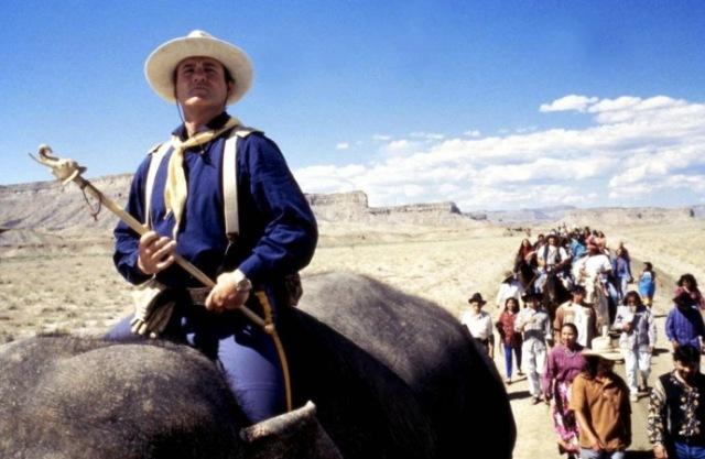 larger than life bill murray elephant