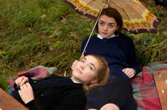 the falling Maisie Williams, Florence Pugh carol morley