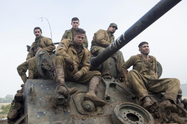 fury brad pitt shia labeouf david ayer tank war