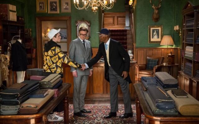 kingsman the secret service taron egerton michael caine samuel l jackson