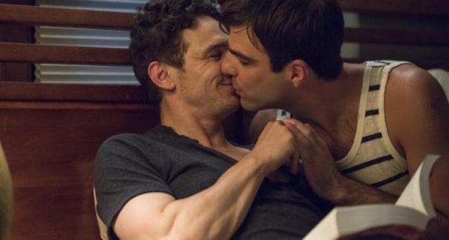 i am michael james franco Zachary Quinto gay kiss