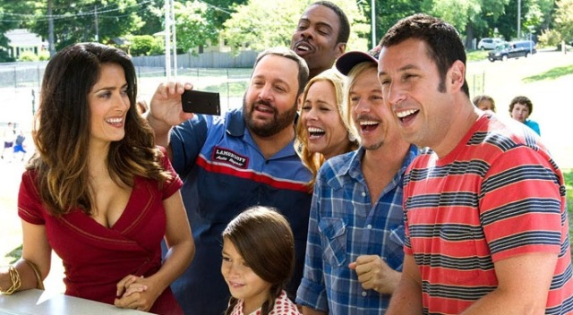 grown ups 2 adam sandler selma hayek