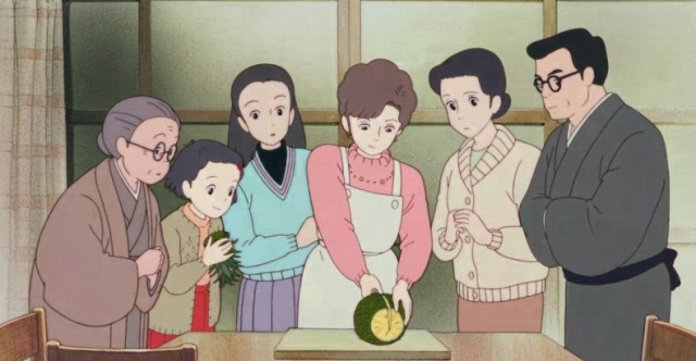 only yesterday takahata studio ghibli pineapple