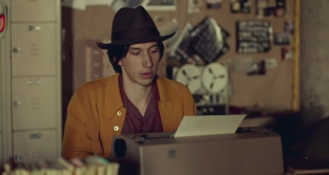 while we're young noah baumbach adam driver keyboard