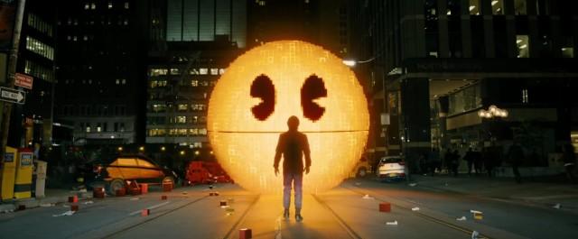 pixels adam sandler pac man creator