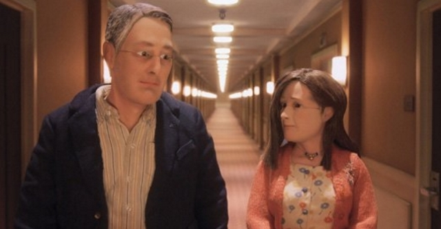 anomalisa david thewlis jennifer jason leigh charlie kaufman stop-motion puppet animation hotel