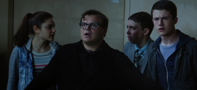 goosebumps rob letterman Jack Black, Dylan Minnette