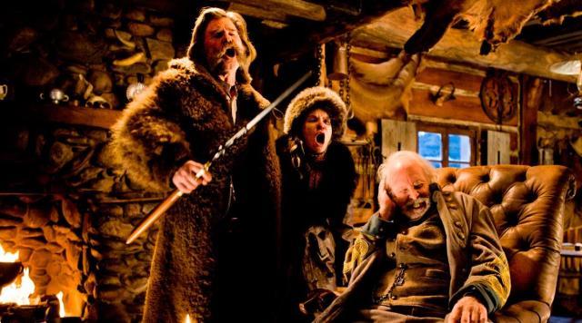 the hateful eight kurt russell jennifer jason leigh quentin tarantino