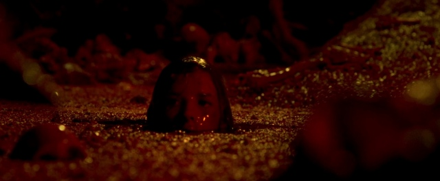 the descent Neil Marshall shauna macdonald pool of blood or something in a cave your guess as good as mine