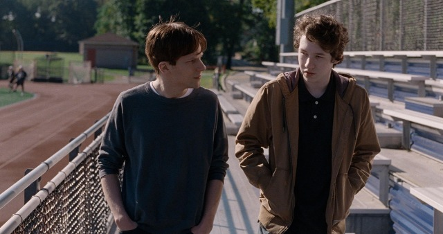 louder than bombs jesse eisenberg joachim trier and kid whose name i cant remember without looking up