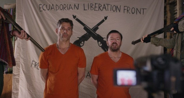 special correspondents eric bana ricky gervais ransom hostage