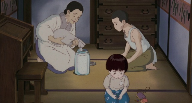 grave of the fireflies studio ghibli isao takahata world war 2